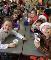 Ms. Miller's Class Enjoys Hot Cocoa