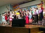 Fourth Grade Music Program