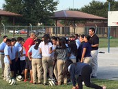 Dallas City coaches helped during recess