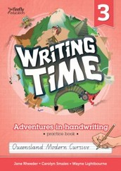 Find your handwriting book.