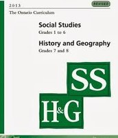 Ontario Social Studies, History and Geography Curriculum