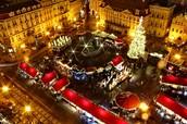 Christmas in prag