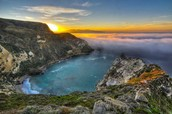 Sunset of Channel Islands National Park