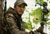 Luke Bryan is hunting.