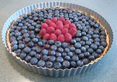 How to make a blueberry tart