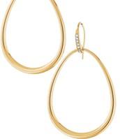 Goddess Teardrop Earrings - Gold