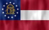 Gergia state flag