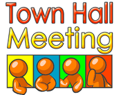 Town Hall Meeting, Wed., May 4