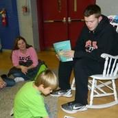 Central Elementary Book Harvest