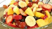 La Ensalada con Fruitas