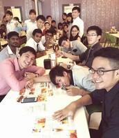 Makan- makan after EGM!