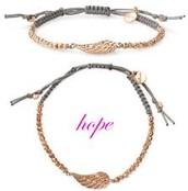"""Hope"" Friendship Tie bracelet"