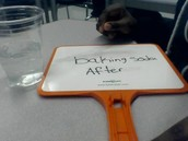 BAKING SODA AFTER