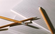 Paper and pencil