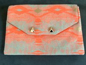 City Slim Clutch Aztec $25