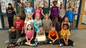 Kate Steger's 4B class raised the most money for Pennies for Patients! Way to go!
