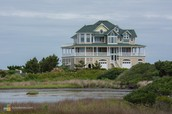 Sound side home in Pamlico