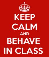 Behavior In 6th Grade!
