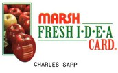 Register your Marsh Fresh Idea Card!