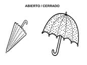 ¿Cómo están los paraguas?