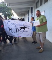 Mr. Douglas - Star Staff of the Month