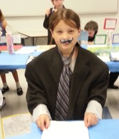 Addison as Milton Hershey-Oh what a wonderful discovery.
