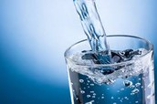 What happens if you drink too little/ too much water?