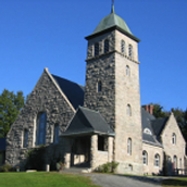 Meriden Congregational Church - the Stone Church at the Top of the Hill