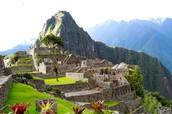 The beautiful Machu Picchu