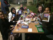 Some of our creative crafters!