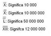 Como escribir números de más de 4 mil.