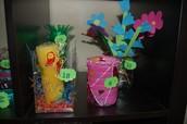 Различные вазы