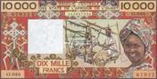 10,000 CFA Francs