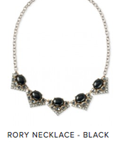 Black Rory Necklace  Reg $59 ~ Sale $30