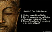 These are the 4 Noble Truths that Every Buddhist shapes their life by