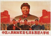This is Mao Zedong he is the leader of communuist china.