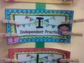 I- Independent Practice