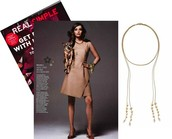 BRYNN LARIAT- $59 (AVAILABLE IN SILVER OR GOLD)