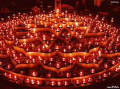 candle/light pattern