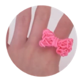 bow ring and bracelet