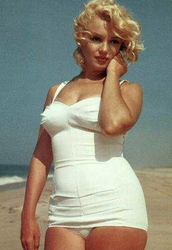 """Imperfection is Beauty"" - Marilyn Monroe"