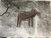 Prehistorische rotstekening