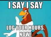 January 31st Deadline for Logging Hours & Meetings