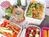 你可以帶健康蔬菜水果走路線