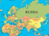 Russia where he lead