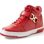 his shoe