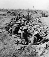 חיילים בריטים בקרב על הסום בצרפת