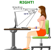 Correct Posture for Typing