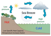 Sea Breeze Diagram