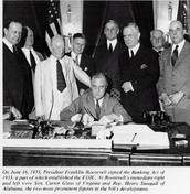 1933: Glass-Steagall Banking Act